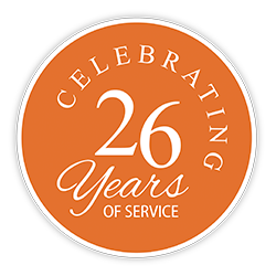 Celebrating 26 years of service