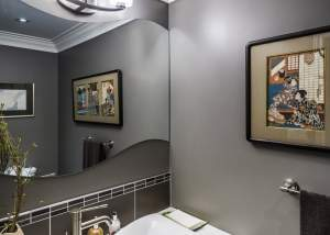 award-winning powder room design