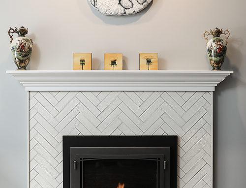 Cardinal Fireplace