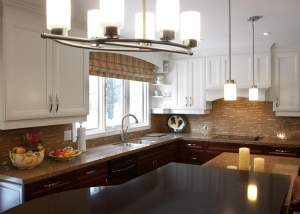 Transitional Kitchen design - total living concepts barrie ontario