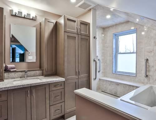 Century Home Ensuite Bathroom