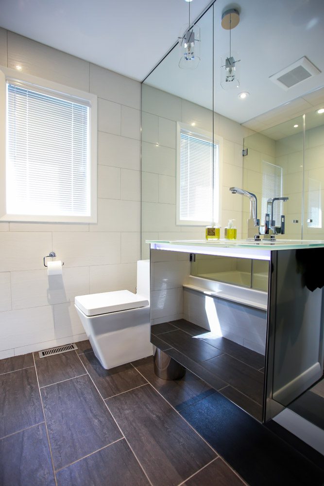 contemporary bathroom design and renovation barrie ontario