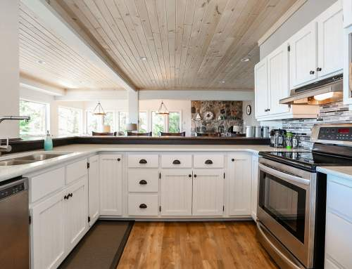Georgian Bay Cottage Kitchen