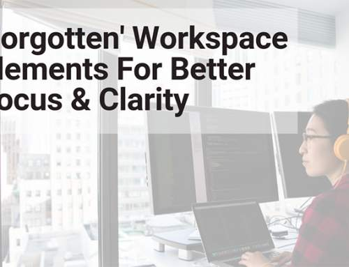Forgotten workspace elements for better focus and clarity