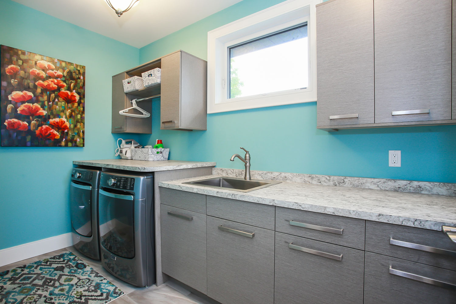 laundry room reno - total living concepts