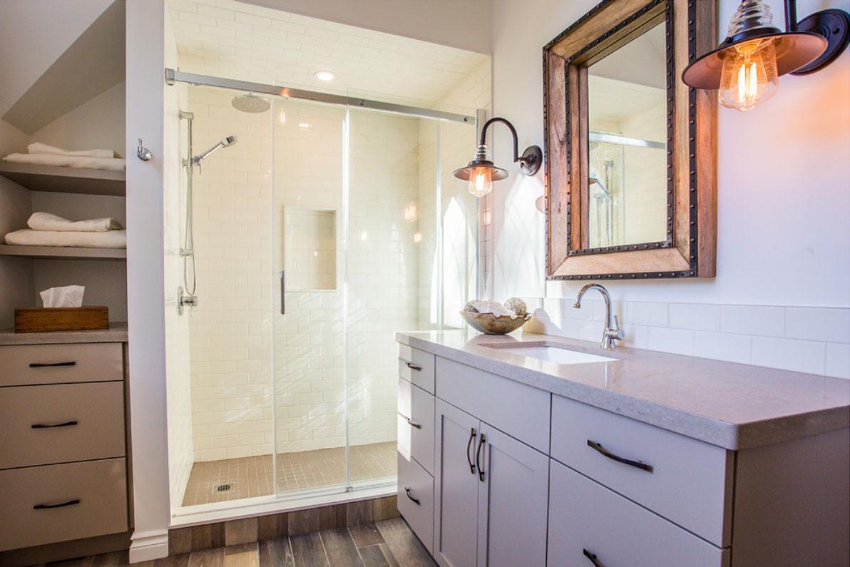 Modern Farmhouse Bathroom Total Living Concepts