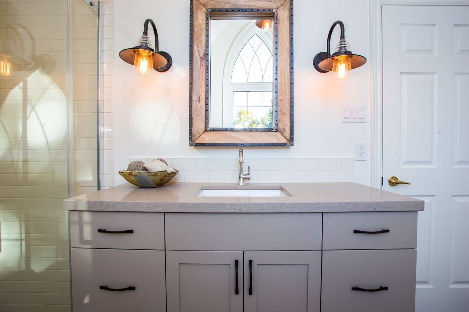 Modern Farmhouse Bathroom - Total Living Concepts on Modern Farmhouse Shower  id=37070