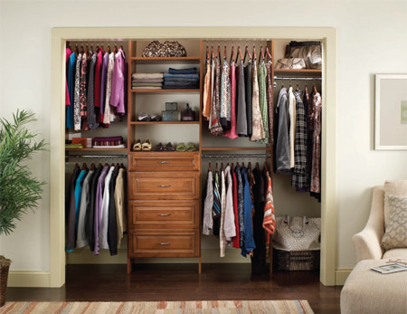 Custom closet organizers design installation total living concepts bedroom closet design organizer solutioingenieria Gallery