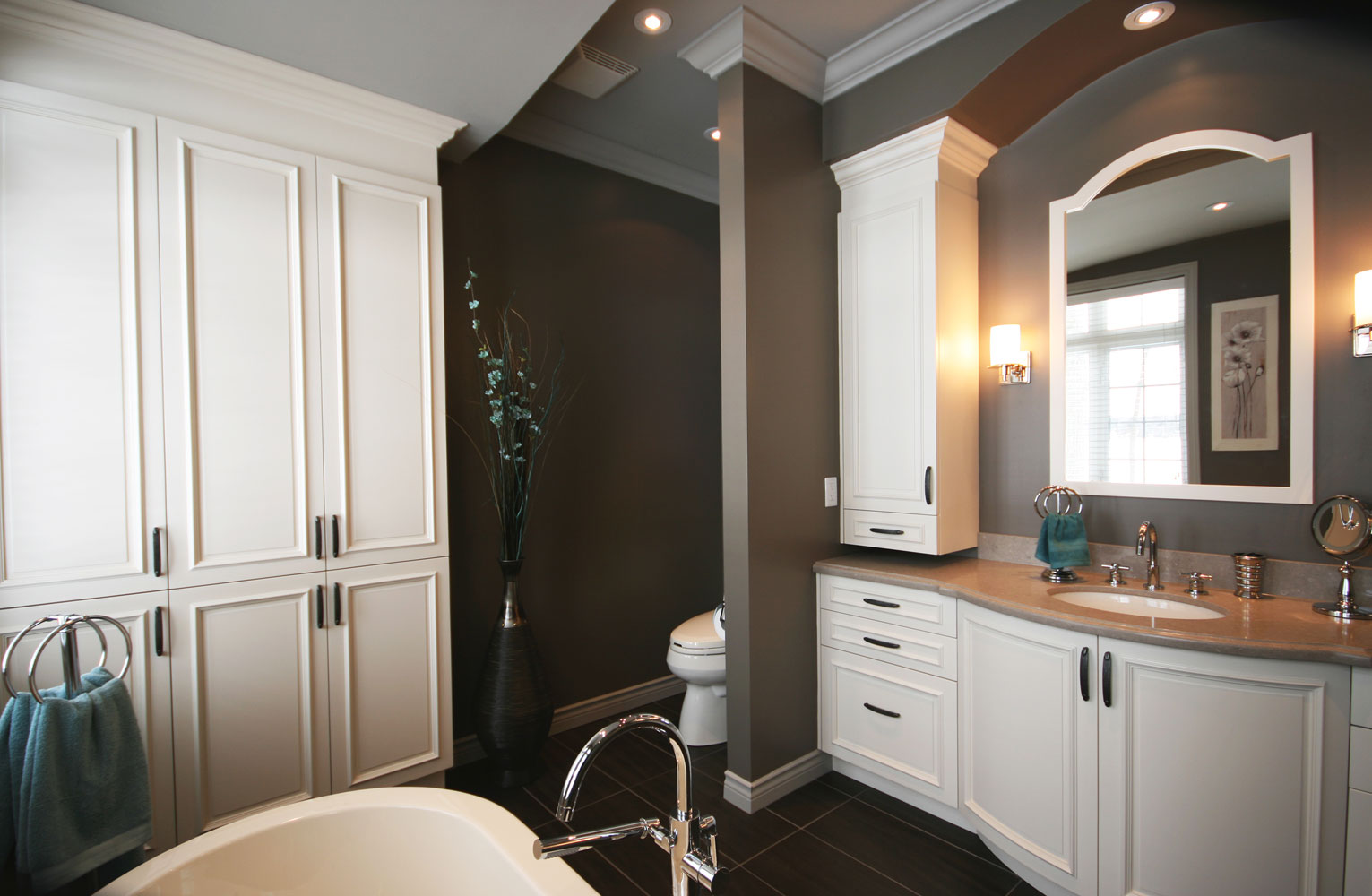 Ensuite bathroom design and renovation barrie ontario