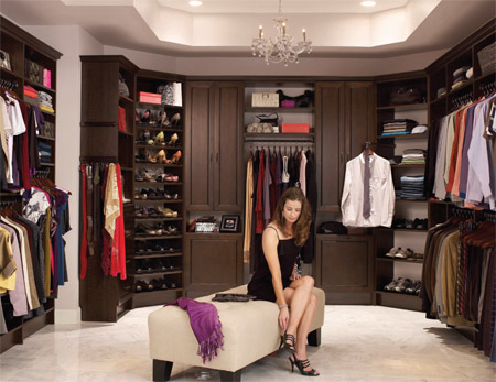 Charmant Walk In Bedroom Closet