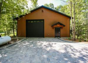 Design and construction of a workshop / garage - total living concepts barrie ontario